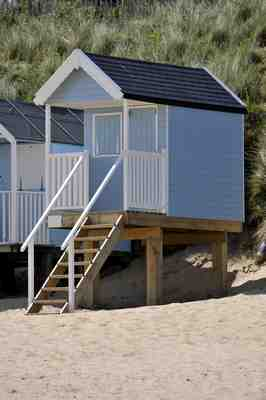 More beach hut photos by james ward for Garden huts for sale