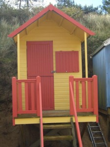 Beach hut for sale in Wells, Norfolk
