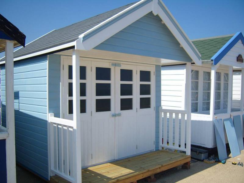 Beach huts beach huts for sale beach huts built to order for Beach hut style
