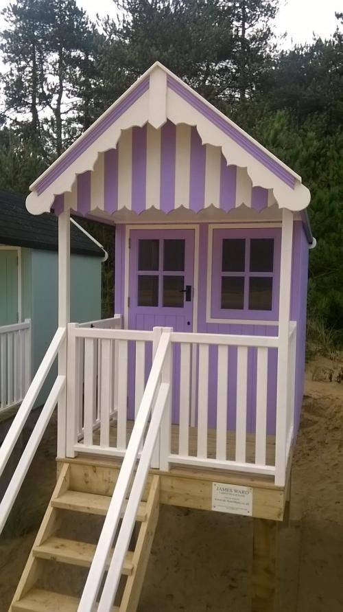 Beach huts beach huts for sale beach huts built to order for Garden huts for sale