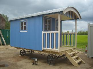 Custom made shepherds huts for Garden hut sale