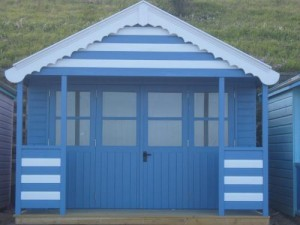 Beach Hut at Southwold