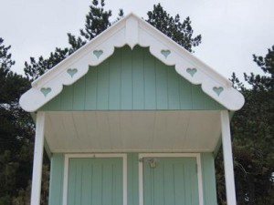 Beach Hut Roof Detail